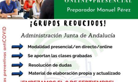 Nuevo grupo de oposiciones de la Junta de Andalucía A1.11-A2.11: inicio en septiembre